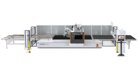 Nesting CNC machining centers of the Dynestic series - nesting technology at its finest