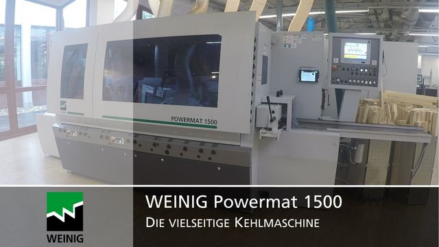 Planer and moulder Powermat 1500
