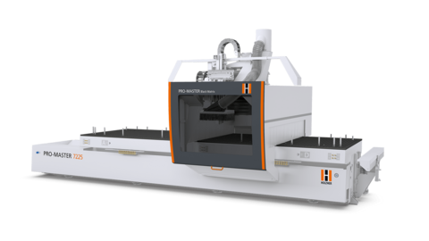 5-axis PRO-MASTER Black Matrix CNC machine from HOLZHER - wood and panel machining at the highest level