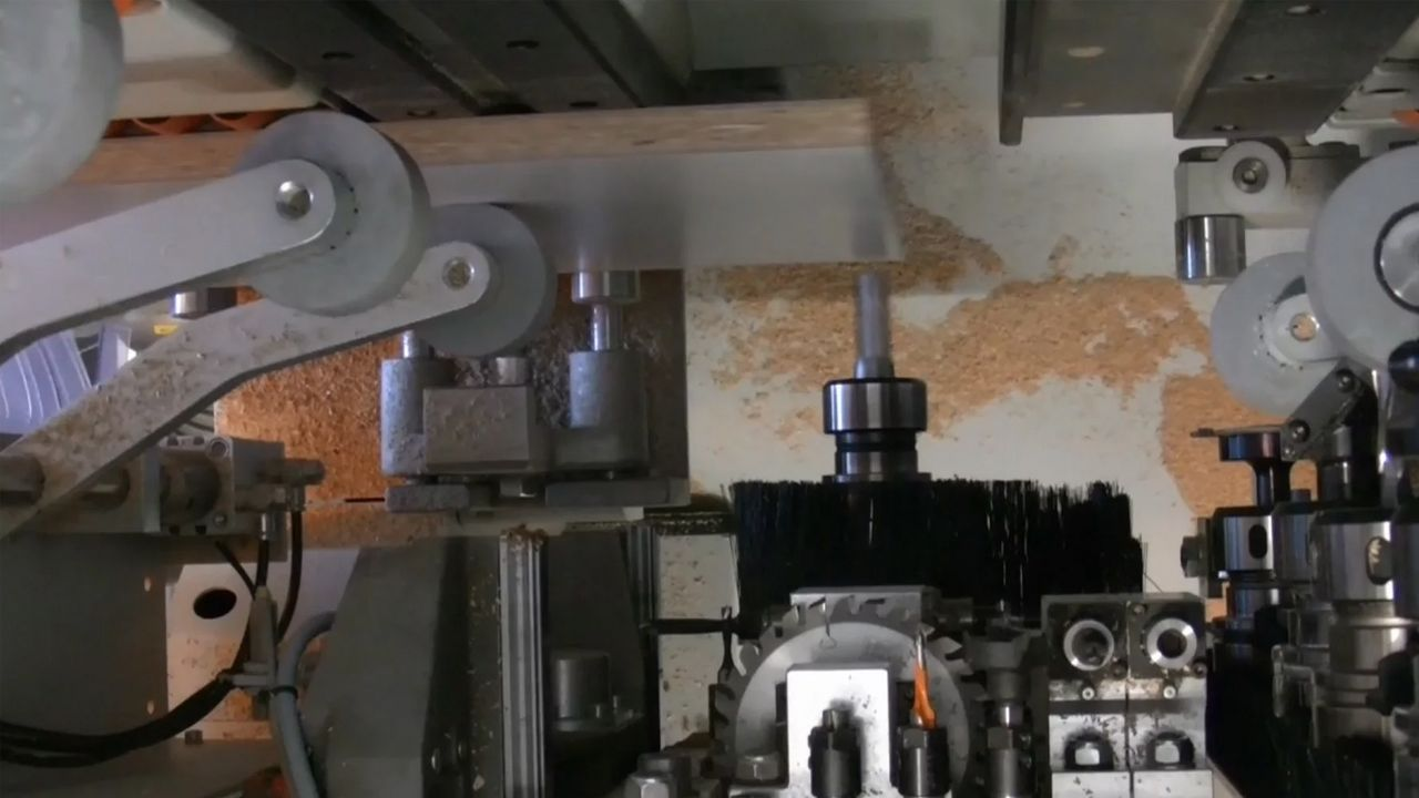 Application usinage EVOLUTION CNC de HOLZHER