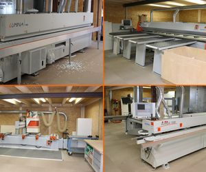The Kobe Carpentry Shop in Reutlingen uses a variety of HOLZHER machines
