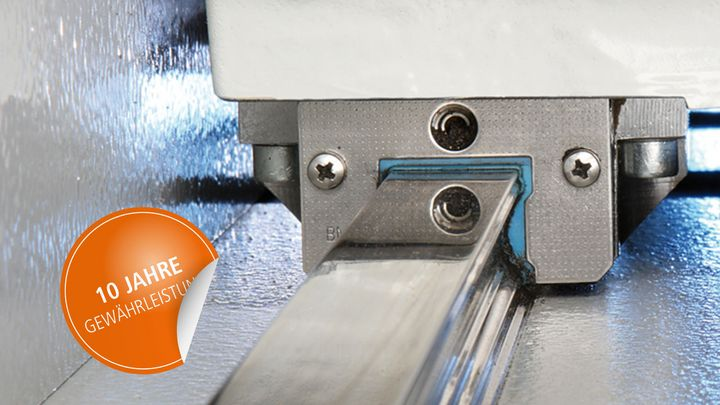 10 year guarantee on all linear guides