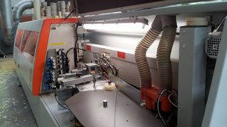HOLZHER reference customer GOSA with edge banding machine