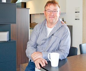 On the right track: Josef Kolb has future-proofed his production facilities