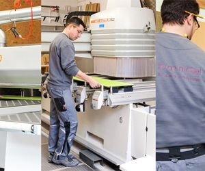 Holzher reference - experience with panel saws, CNC machining, edgebanding